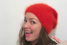 Rote Mütze stricken  Super einfache Strickanleitung für ein Beanie