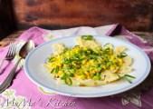 Pasta mit ERbsen und Mais