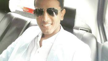 Photo of Faraaz Kazi on his way to University of Mumbai