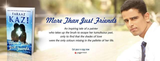Header for More Than Just Friends - a book by Faraaz Kazi