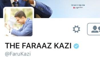 faraaz kazi on twitter