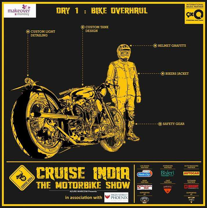 Cruise India The Motorbike Show from 17 to 23 February 2014 at High Street Phoenix, Lower Parel