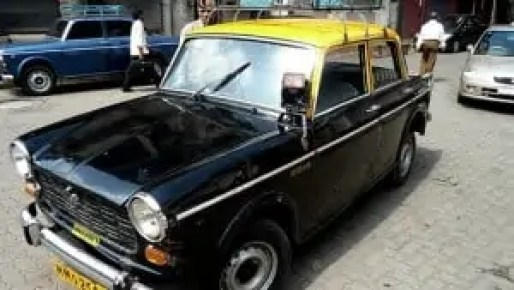 Kali Peeli taxi of Mumbai