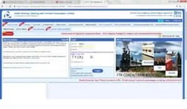 irctc-login-page