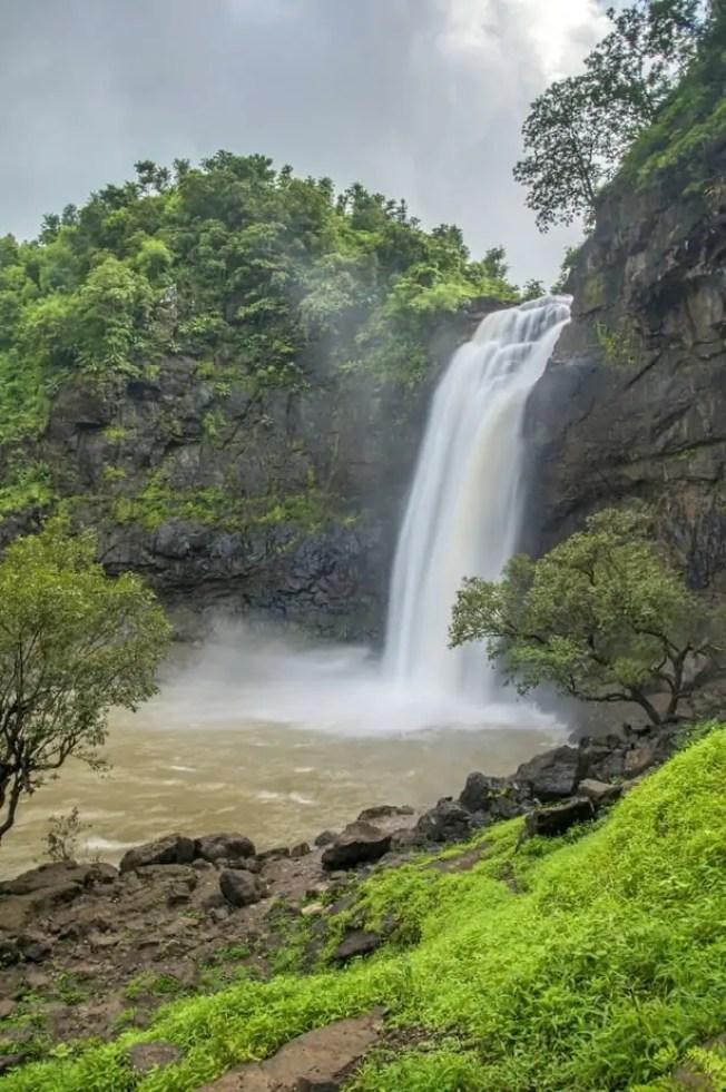 Dabhosa Waterfall, Jawhar, Thane, Maharashtra, India. One of the highest waterfalls situated near Mumbai