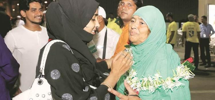 Haj pilgrims happy with facilities at Mumbai airport