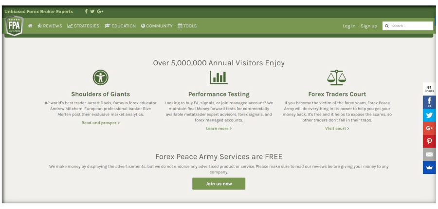 Forex peace army signals