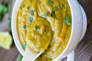 Ninja Foodi Vegan French Yellow Split Pea Soup