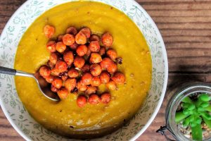 Ninja foodi Root Vegetable Soup & Roasted Chickpeas