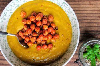 Ninja foodi Root Vegetable Soup & Roasted Chickpeas
