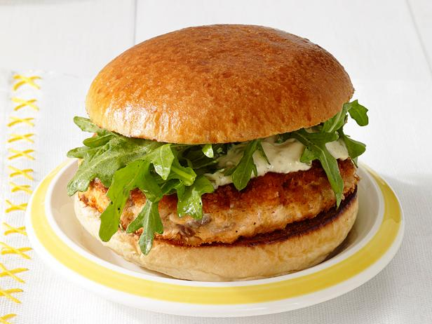 Ninja Foodi Grill Salmon Burger