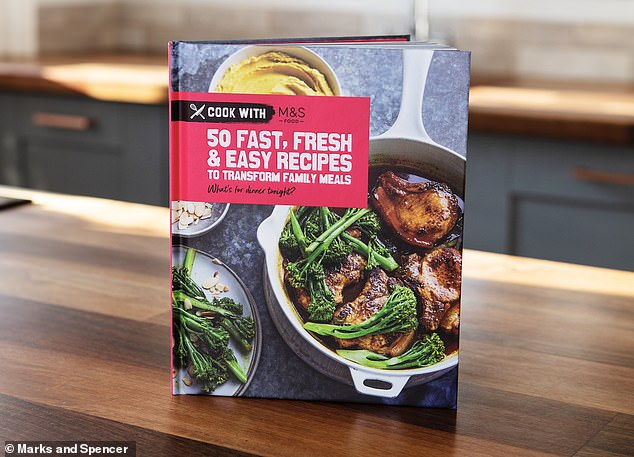 Marks and Spencer have launched a new cookbook featuring 50 easy recipes and quick weeknights dinners.