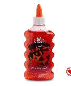 Elmers glitter glue red rojo mumi tienda mayorista libreria escolar