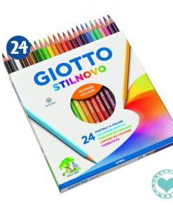 lapiz giotto stilnovo 24 colores mumi diseño divertido