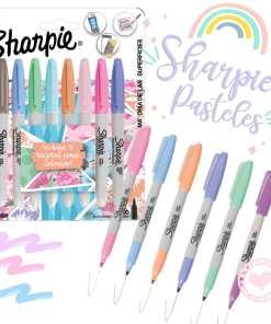 sharpie marcadores permanentes pasteles por 8 fino mumi diseño divertido
