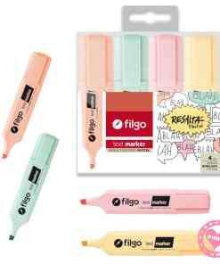 filgo resaltador pastel text marker por 4 mumi diseño divertido