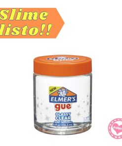 elmers hecho slime transparente classy clear mumi diseño divertido