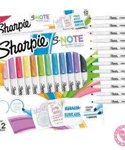 sharpie snote resaltador marcador por 12 mumi diseño divertido