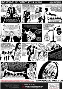 Tract « Une nouvelle chance pour Mumia ! » (A4 – Décembre 2018)