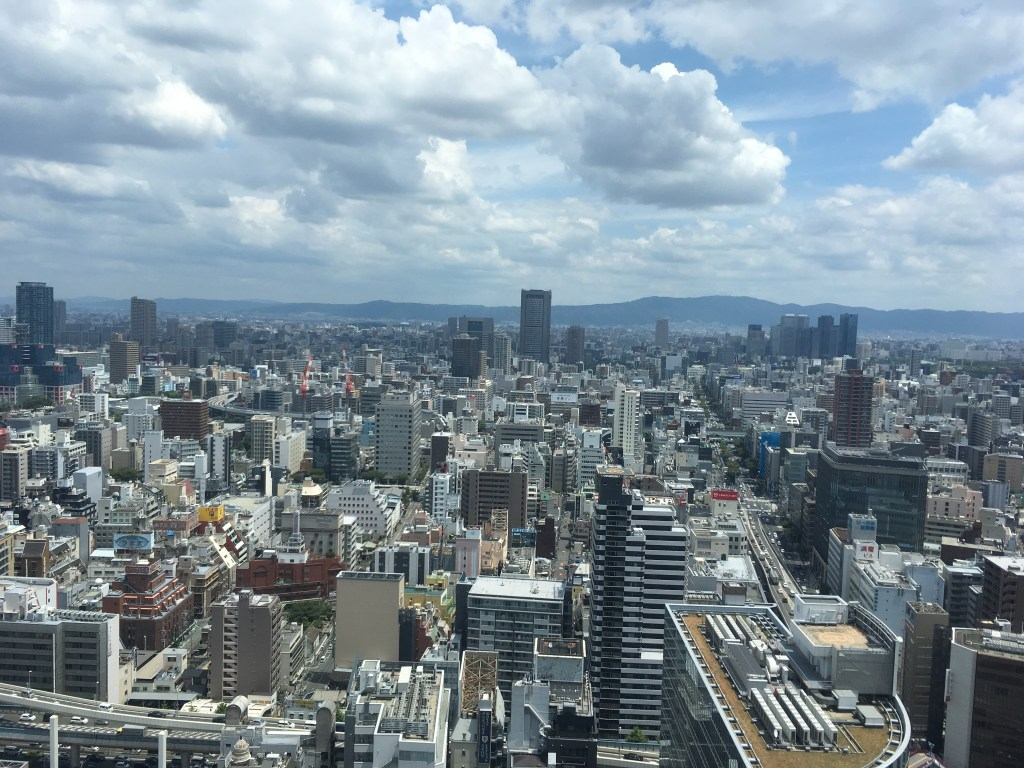 大阪駅前ビル展望台3