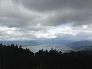 比叡山頂からの眺め