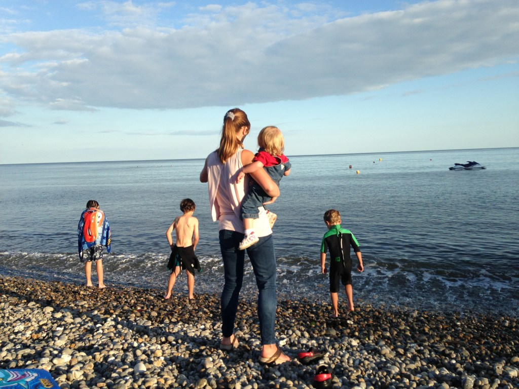 Throwing pebbles – My Captured Moment