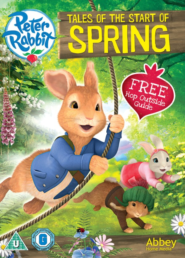 Peter Rabbit DVD giveawa