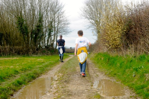 Like Father, like son. A weekend ramble by Mum in a nutshell