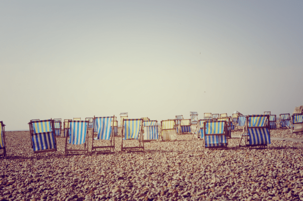 deckchairs waiting for Summer by Mum in a Nutshell