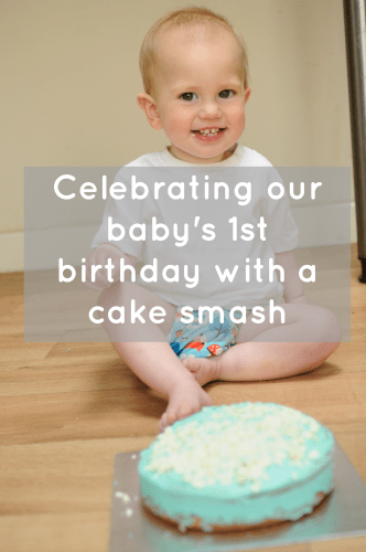 Celebrating our baby's 1st birthday the fun way
