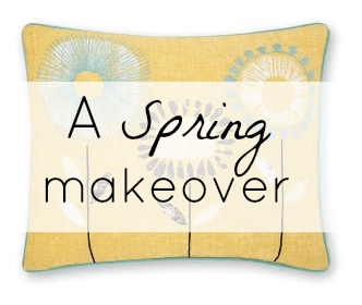 A Living Room Spring Makeover