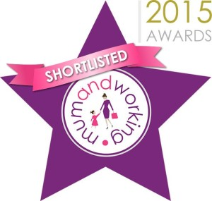 Working and mum awards 2015, shortlist for best working parent blogger