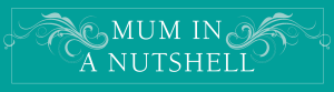 A new blog header for Mum in a Nutshell from Halogen Creative