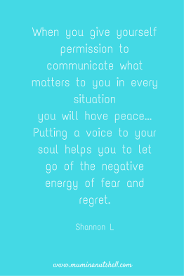 ever wondered why it's good to talk? this quote says it all, read more on why it is here';