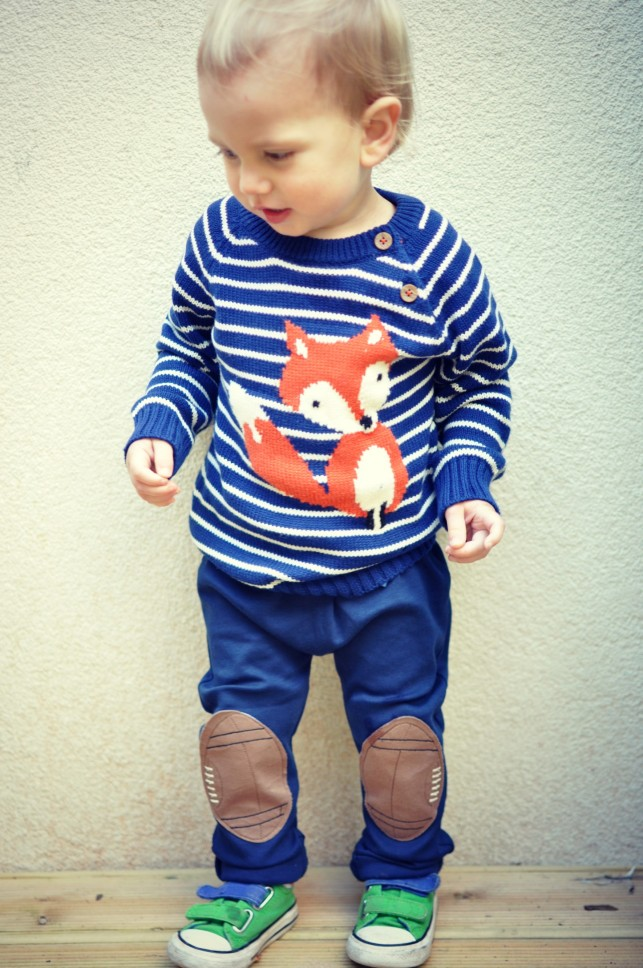 LOVING THE FOX PRINT IN BABY JOULES