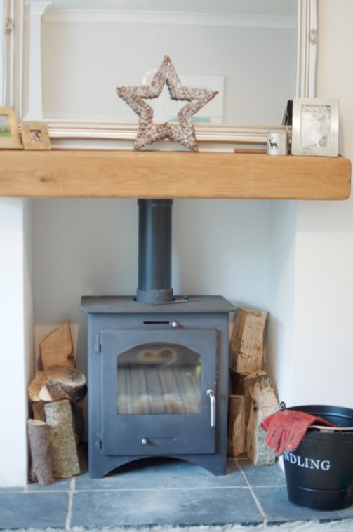 how to clean the glass on your log burner the free and easy way