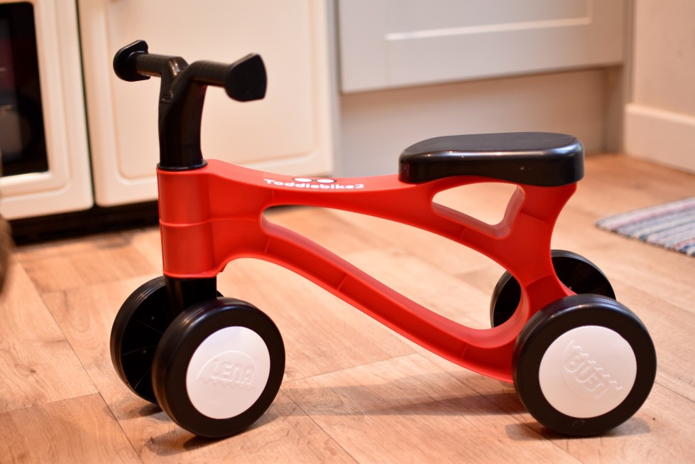 Reviewing the Toddlebike2, the pre balance bike for toddlers