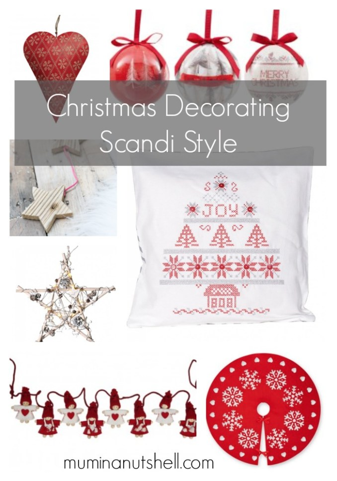 Inspiration For A Scandinavian Theme Christmas Decorating