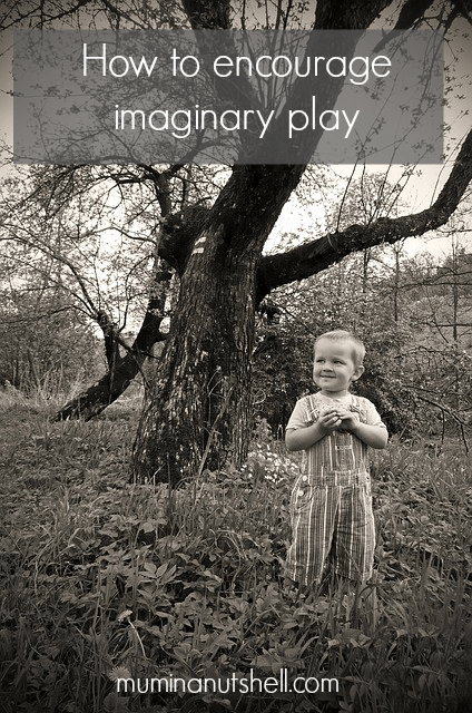 How to encourage imaginary play