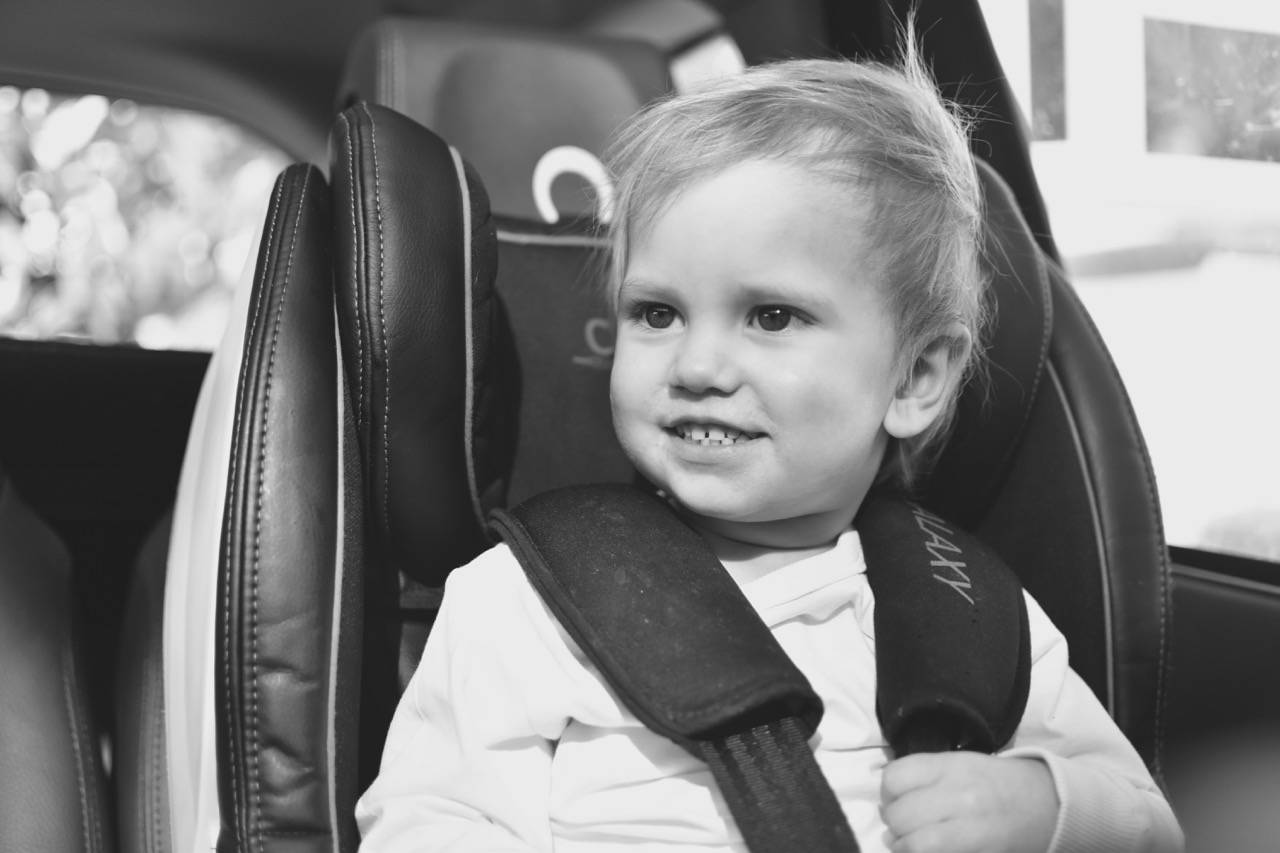 How I helped my baby to stop crying in the car