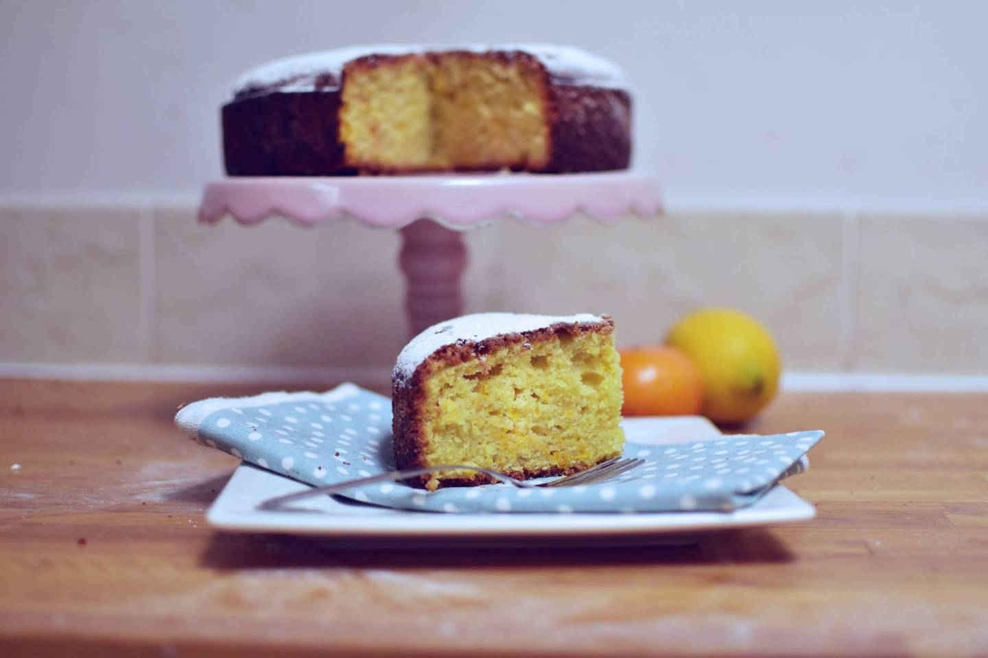 A Recipe For An Olive Oil Cake