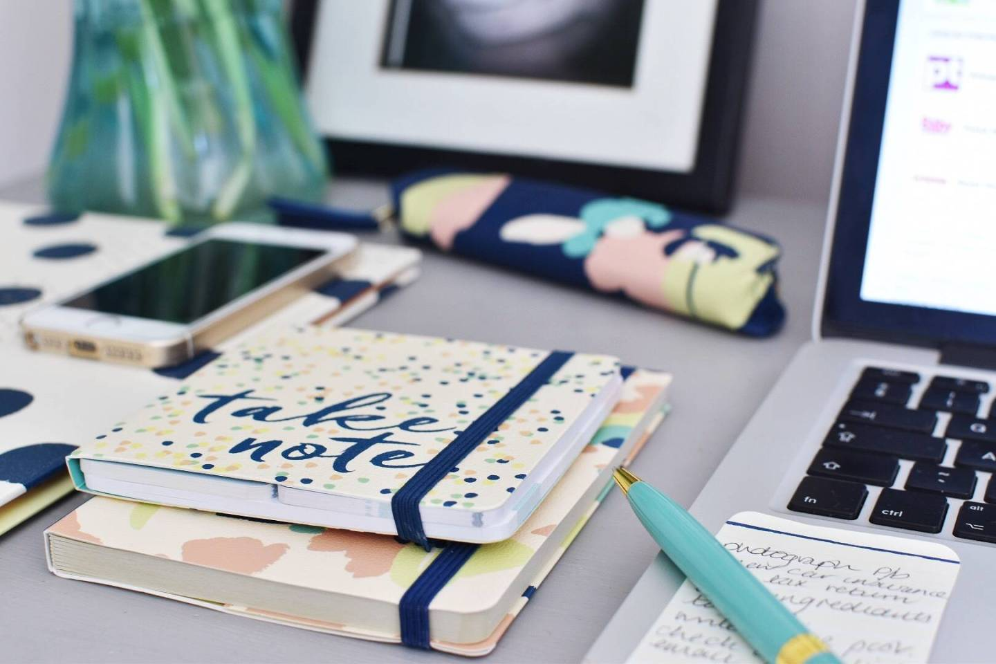 Styling A Multi Use Work Space With Busy B Stationary