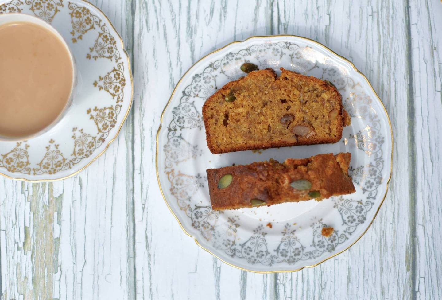 Banana, Pumpkin Seed and Walnut Tea Loaf