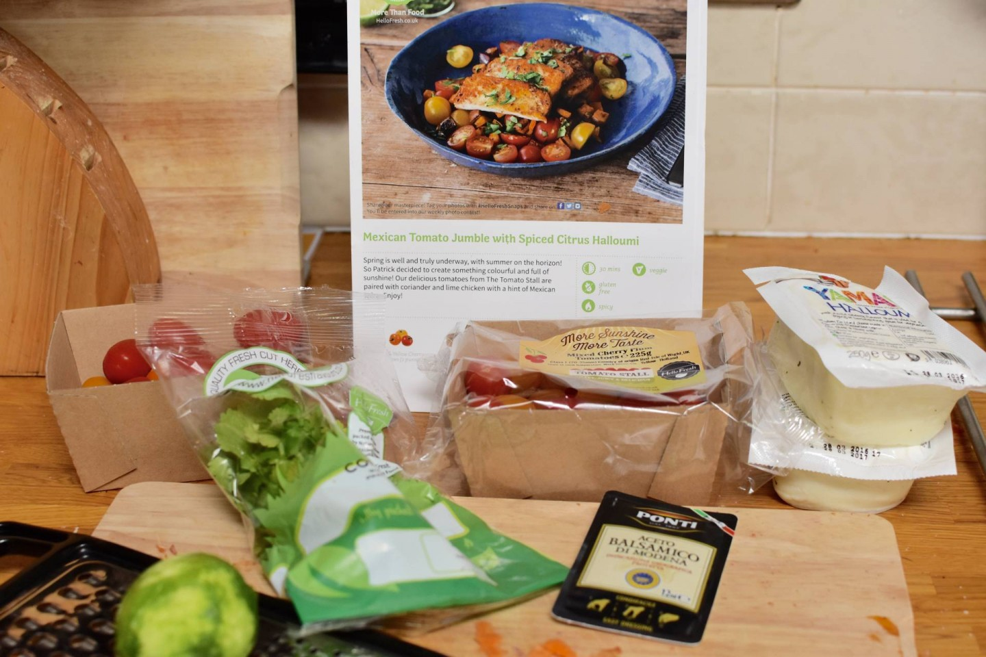 making family life as a busy working mum so much easier with Hello fresh boxes!