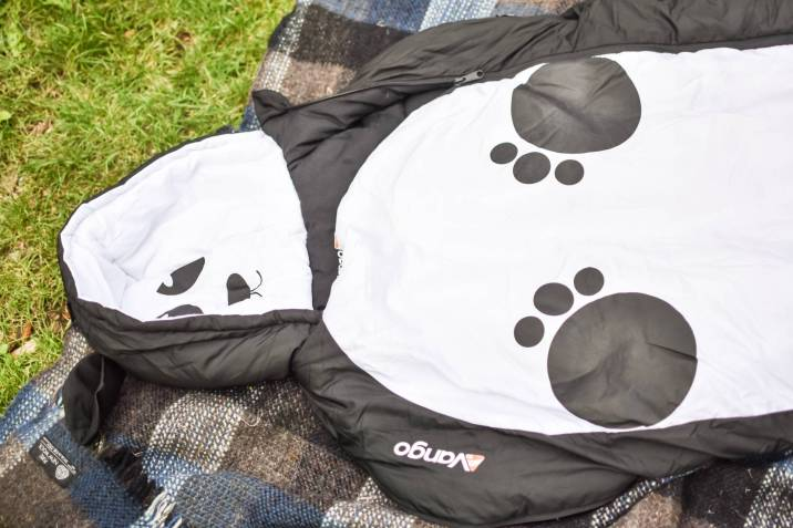 super cute wearable Vango sleeping bag for kids!