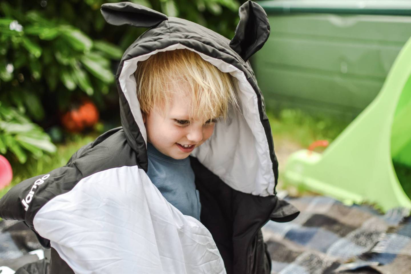 Check Out This Cute Vango Kids Sleeping Bag!