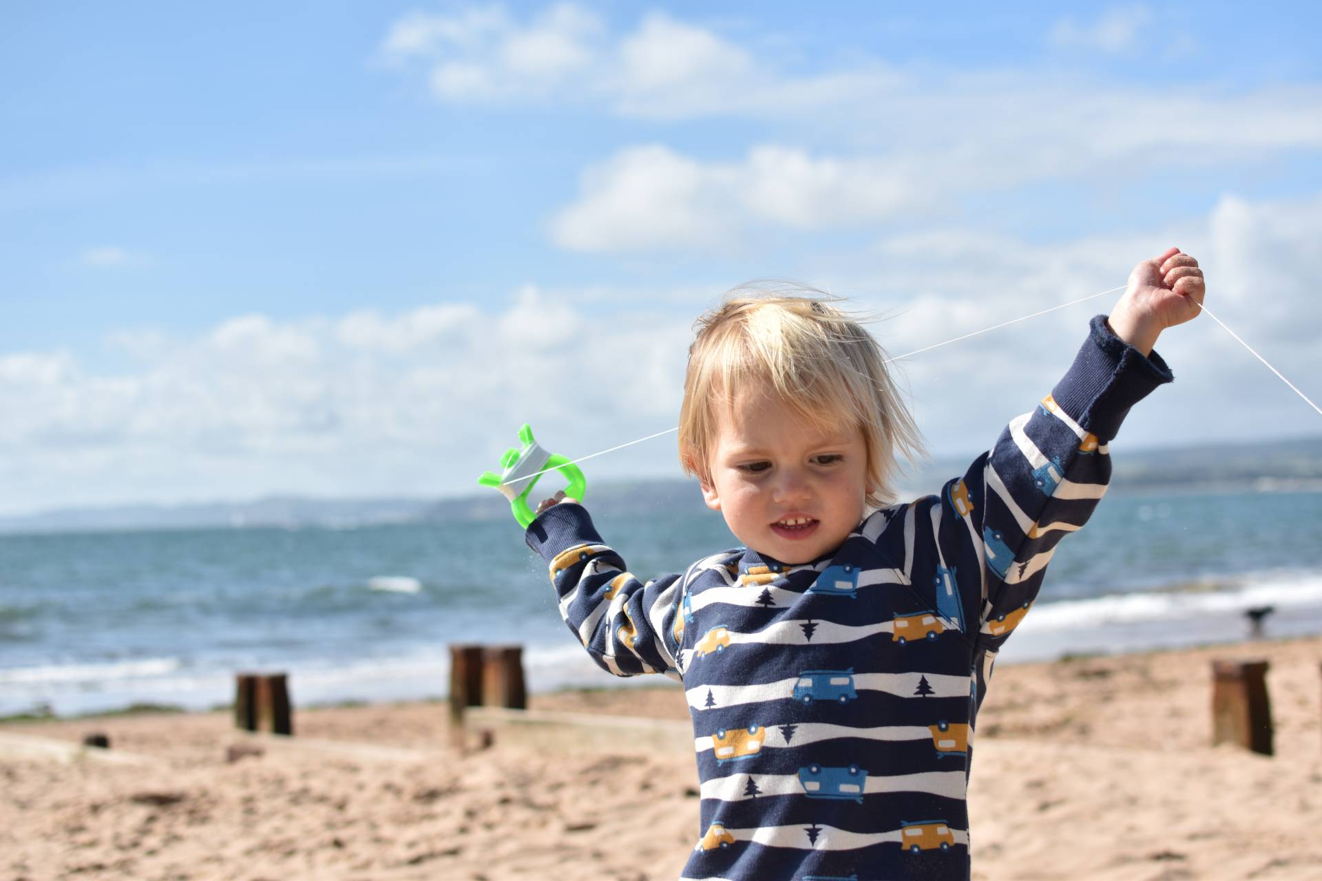Frugi Rex boy's jumper, they're organic clothes are some of the cutest toddler fashion around.
