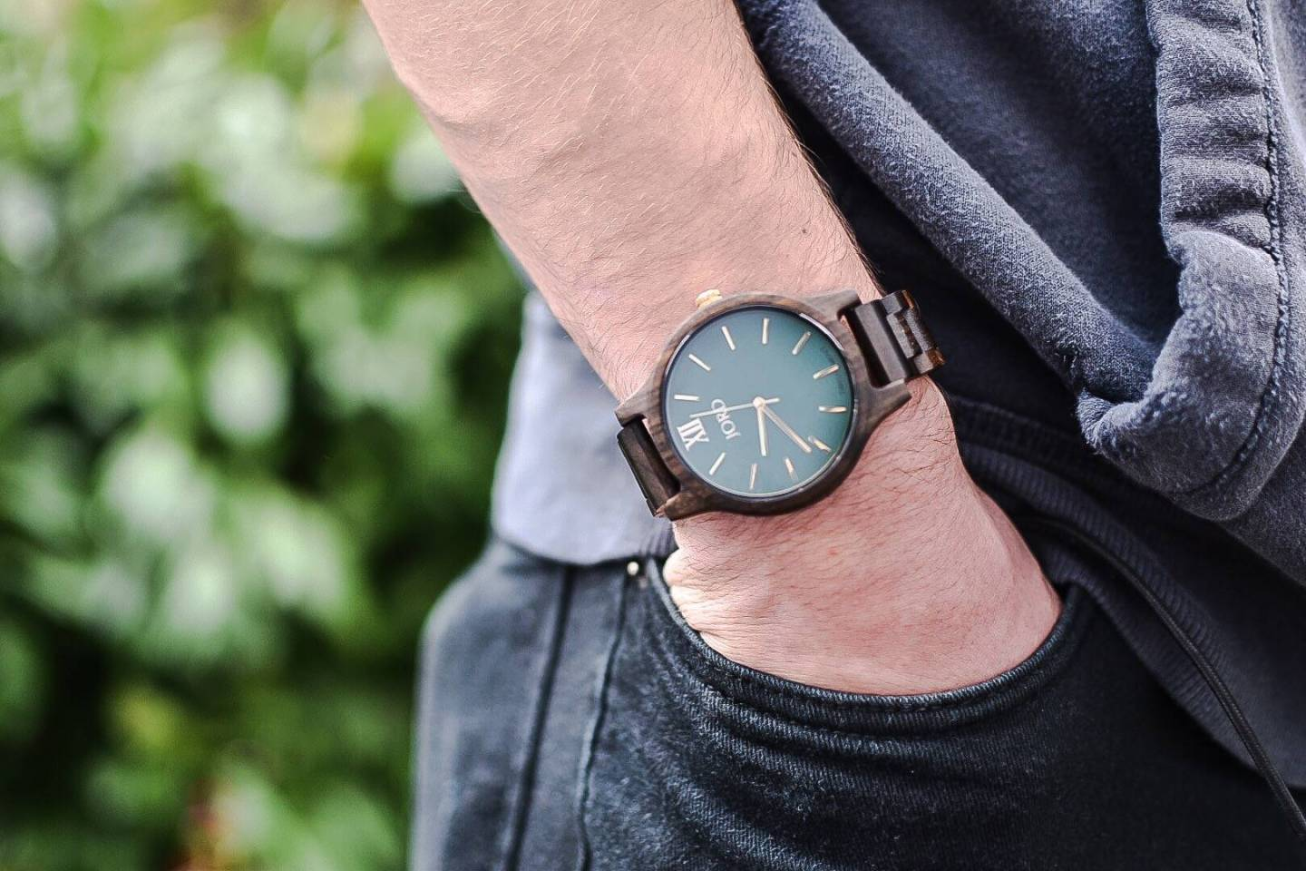 I think this Jord wood watch will be the perfect present for my teenage son