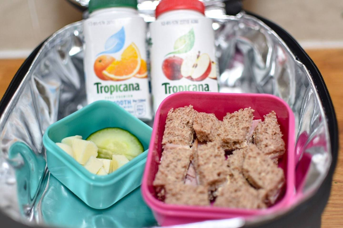 Sneaky ways to get 5 a day in a lunch box