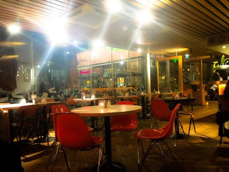 a review of the The Giraffe world kitchen restaurant